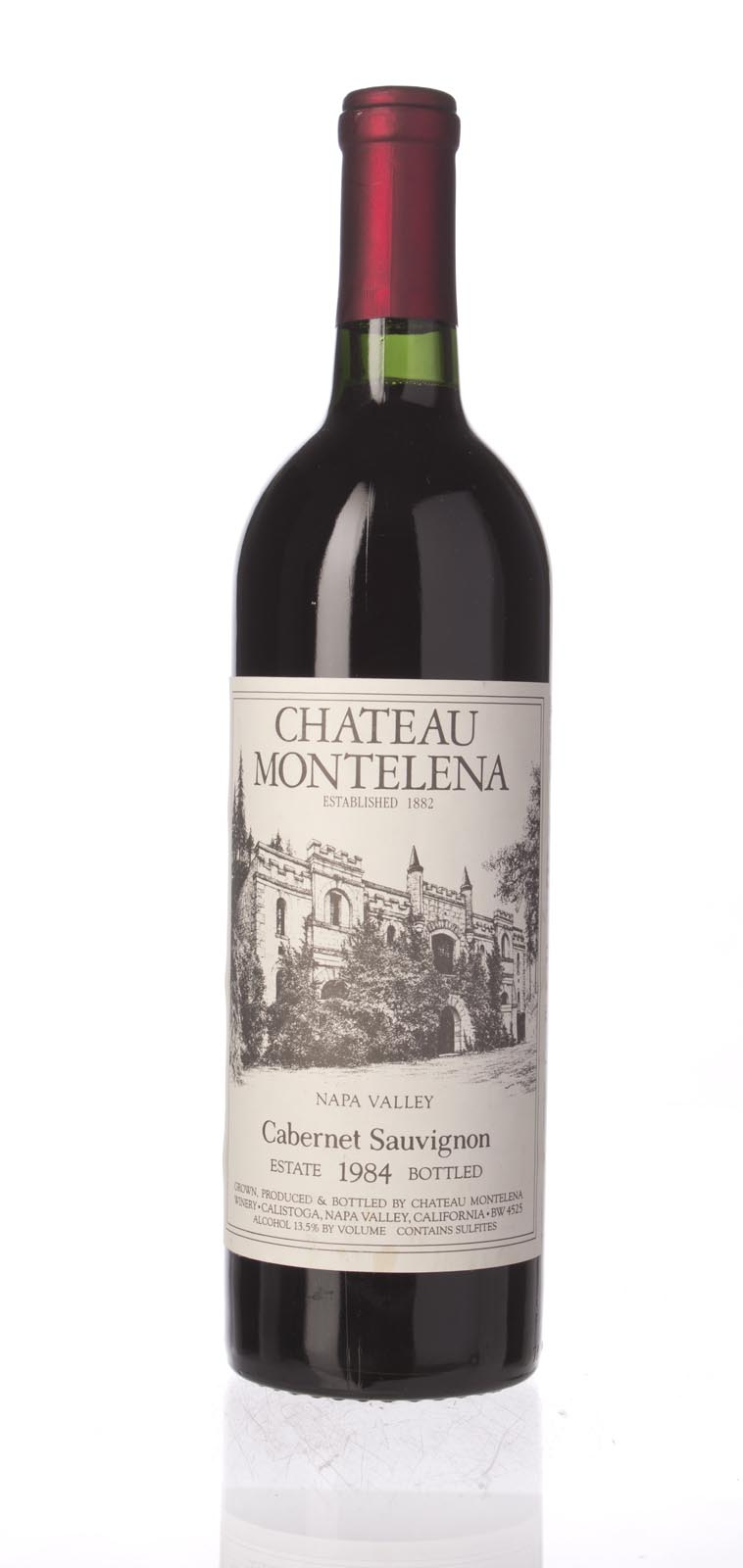 Chateau Montelena Cabernet Sauvignon Montelena Estate 1984, 750mL (WA92, WS93) from The BPW - Merchants of rare and fine wines.