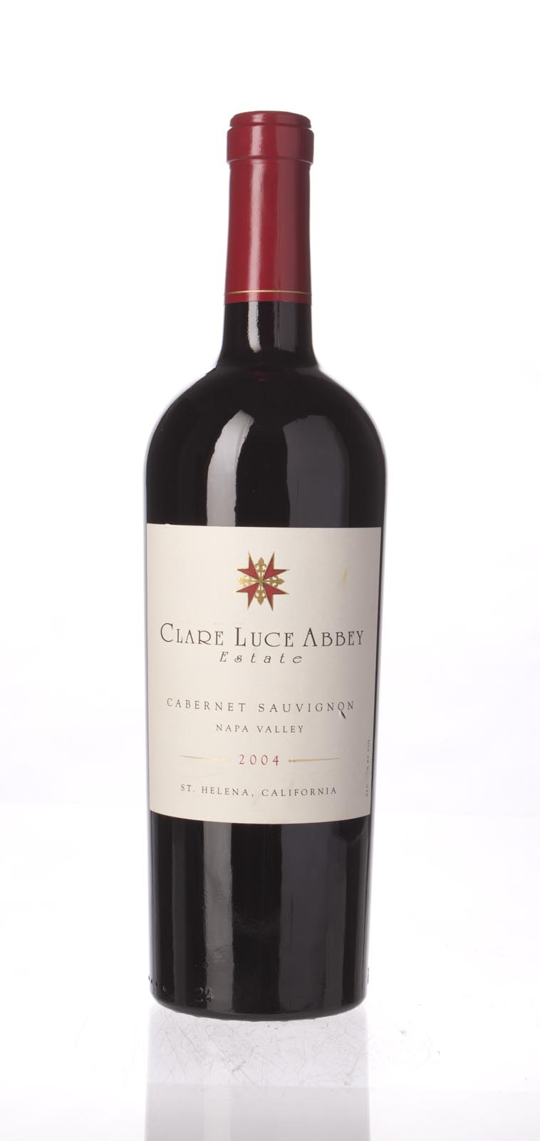 Clare Luce Abbey Estate Cabernet Sauvignon 2004, 750mL () from The BPW - Merchants of rare and fine wines.