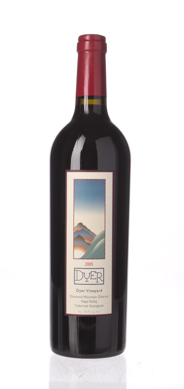 Dyer Cabernet Sauvignon Diamond Mountain 2005, 750ml () from The BPW - Merchants of rare and fine wines.