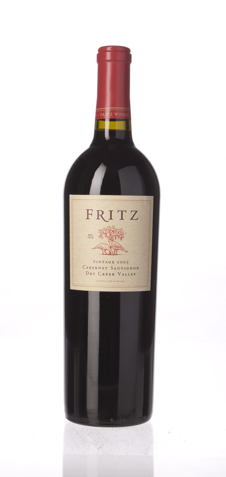 Fritz Cellars Cabernet Sauvignon Dry Creek Valley 2003, 750mL () from The BPW - Merchants of rare and fine wines.