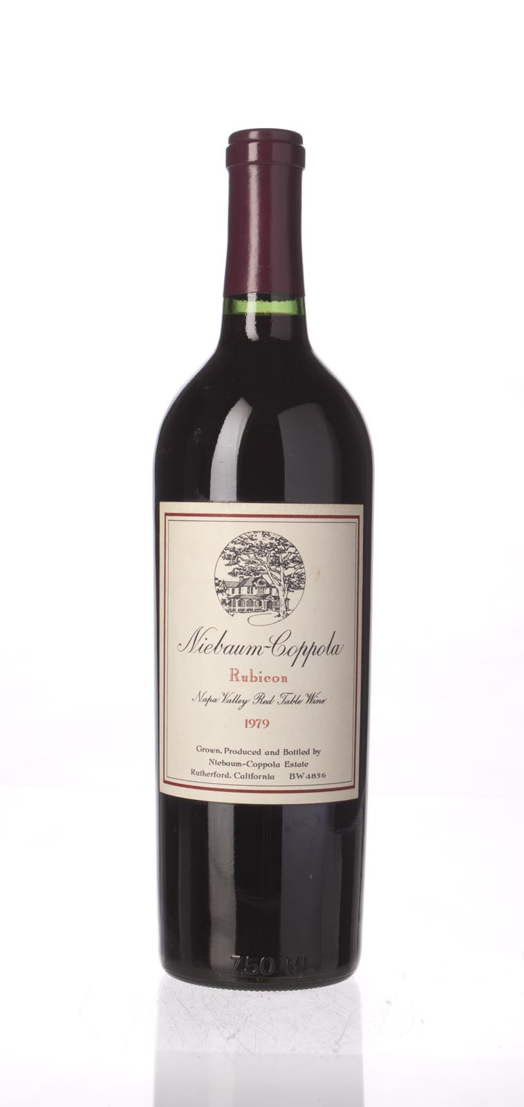 Niebaum Coppola Proprietary Red Rubicon 1979, 750mL () from The BPW - Merchants of rare and fine wines.