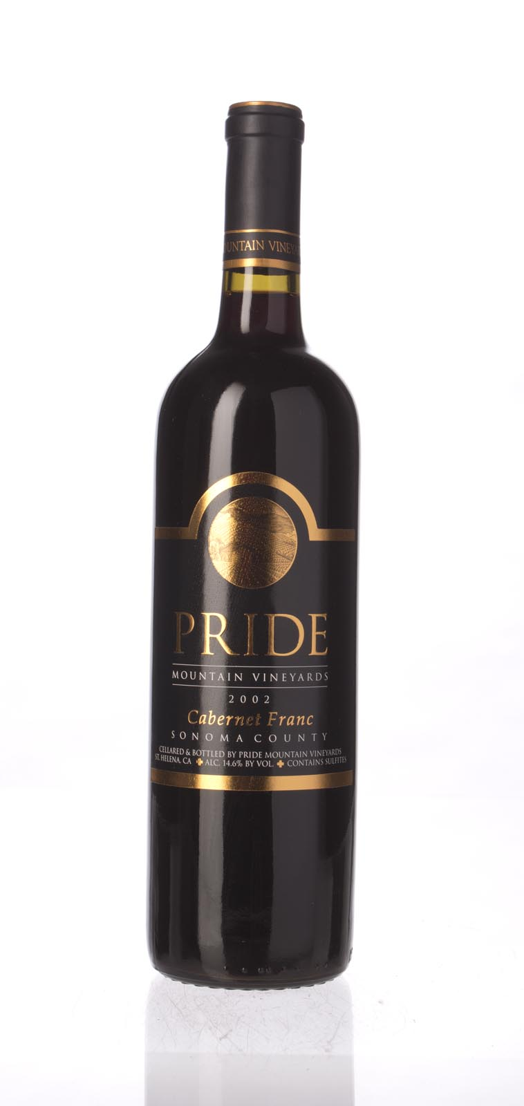 Pride Mountain Vineyards Cabernet Franc 2002, 750mL (WA93, ST91) from The BPW - Merchants of rare and fine wines.