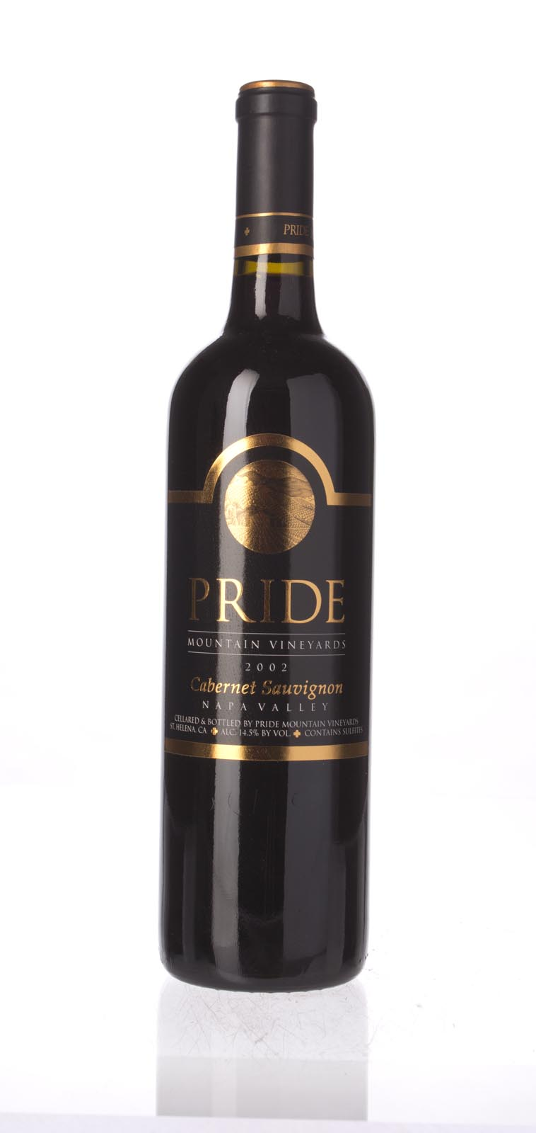 Pride Mountain Vineyards Cabernet Sauvignon 2002, 750mL (WA91, WS93) from The BPW - Merchants of rare and fine wines.