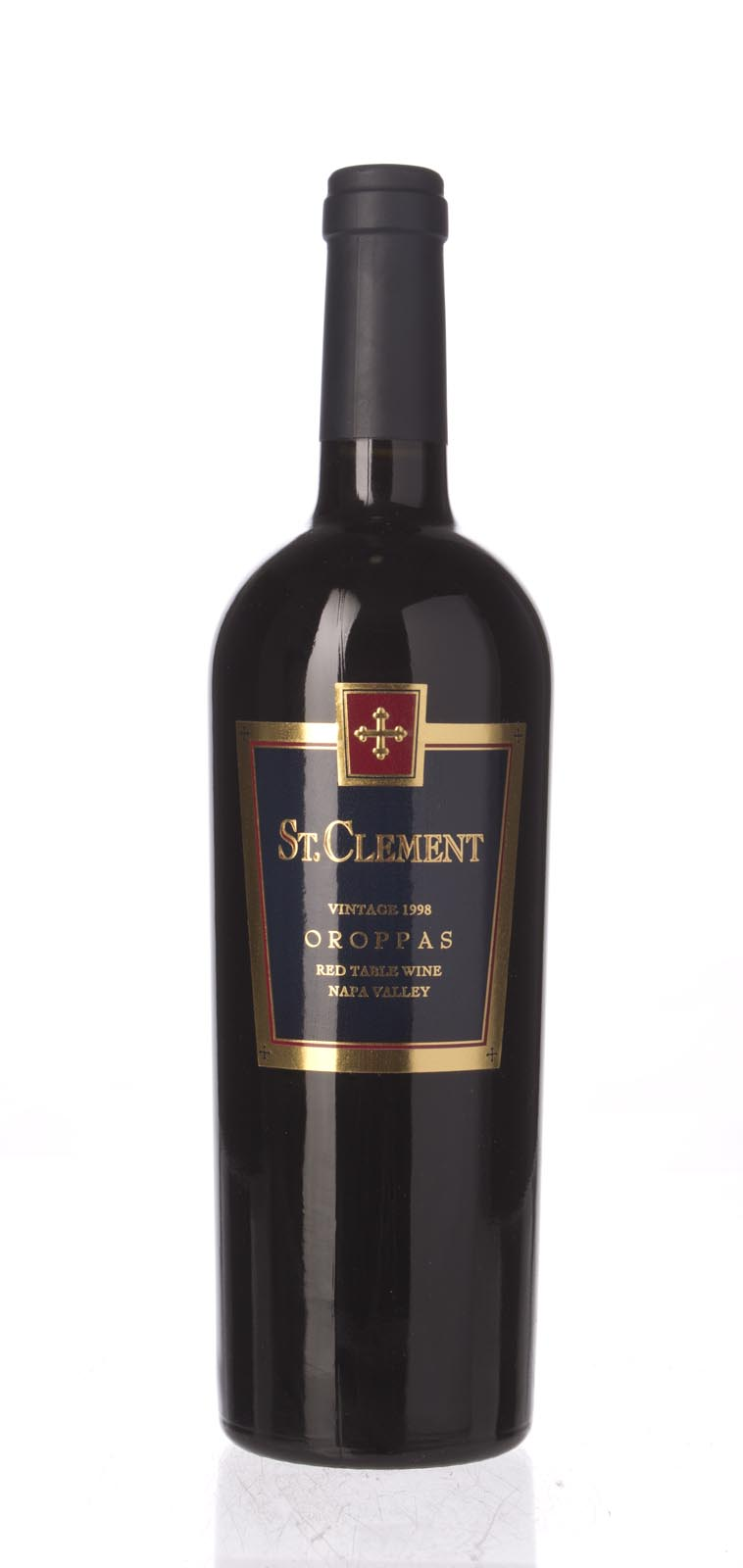 St. Clement Proprietary Red Oroppas 1998, 750mL (WS92) from The BPW - Merchants of rare and fine wines.