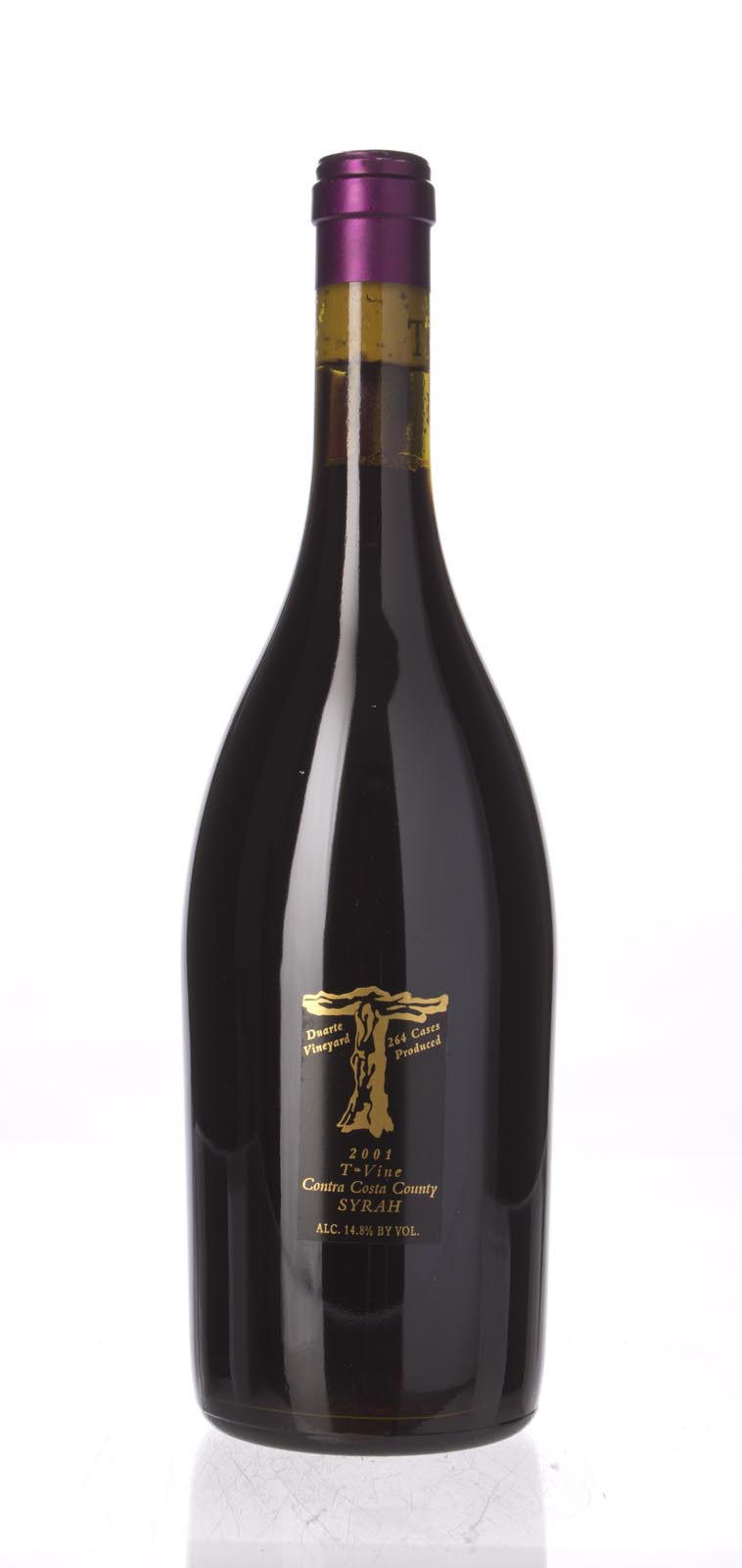 T Vine Syrah Duarte Vineyard 2001, 750mL () from The BPW - Merchants of rare and fine wines.