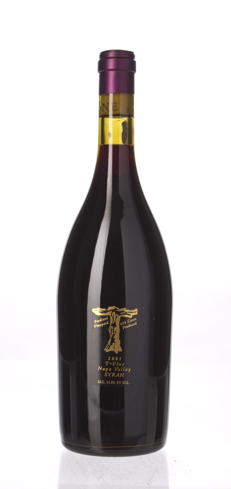 T Vine Syrah Frediani Vineyard 2001, 750mL () from The BPW - Merchants of rare and fine wines.
