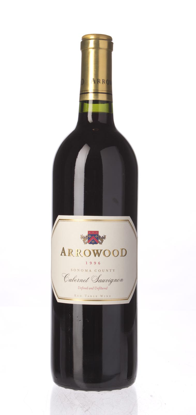 Arrowood Cabernet Sauvignon Sonoma County 1996, 750mL (WA89) from The BPW - Merchants of rare and fine wines.