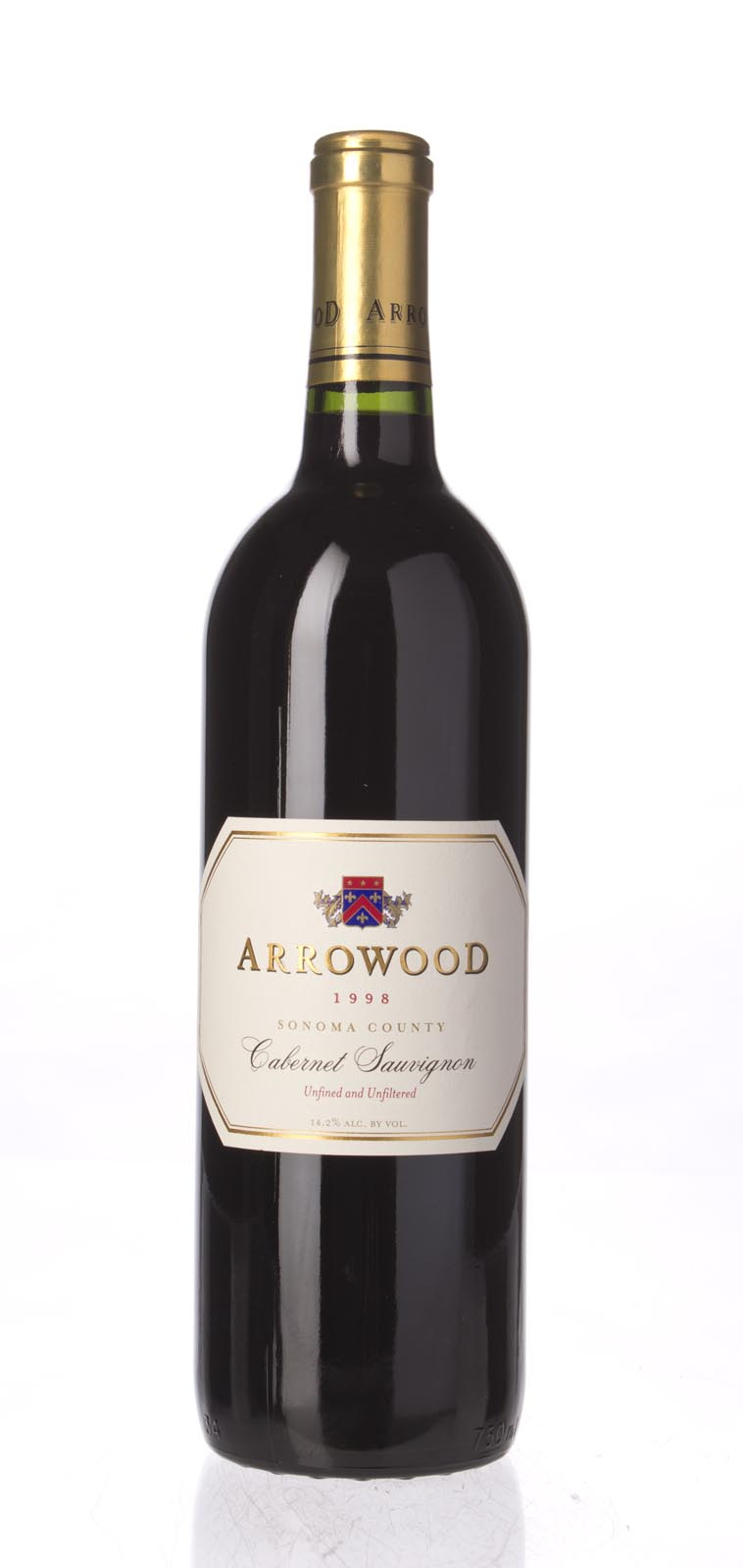 Arrowood Cabernet Sauvignon Sonoma County 1998, 750mL () from The BPW - Merchants of rare and fine wines.