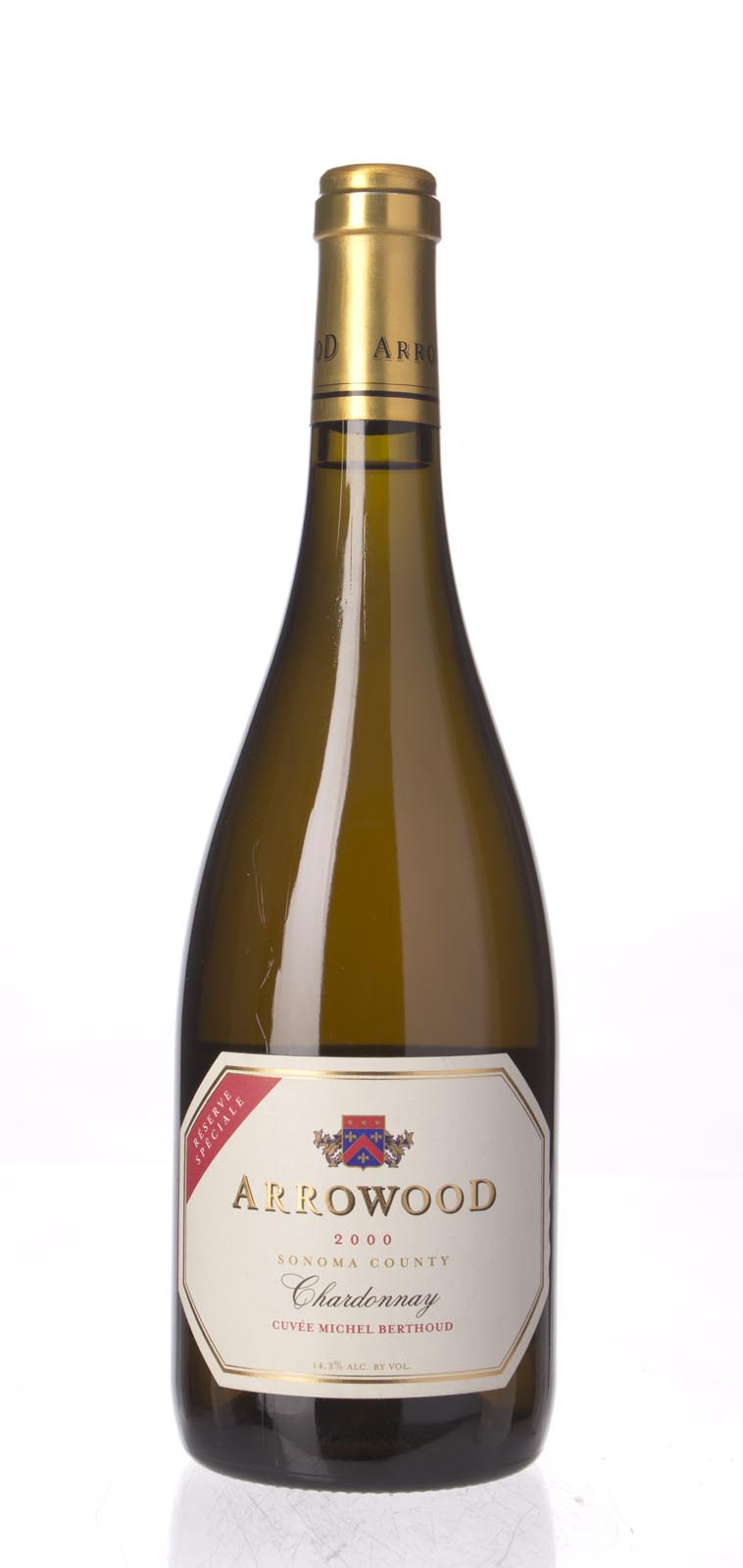 Arrowood Chardonnay Reserve Speciale 2000, 750mL (WA90) from The BPW - Merchants of rare and fine wines.