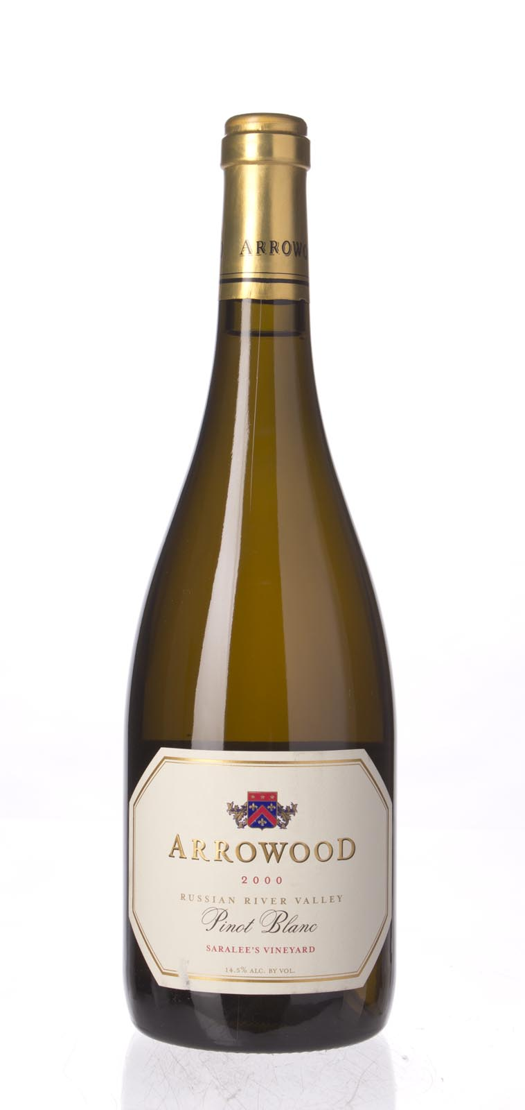 Arrowood Pinot Blanc Saralee`s Vineyard 2000, 750mL (WA91) from The BPW - Merchants of rare and fine wines.