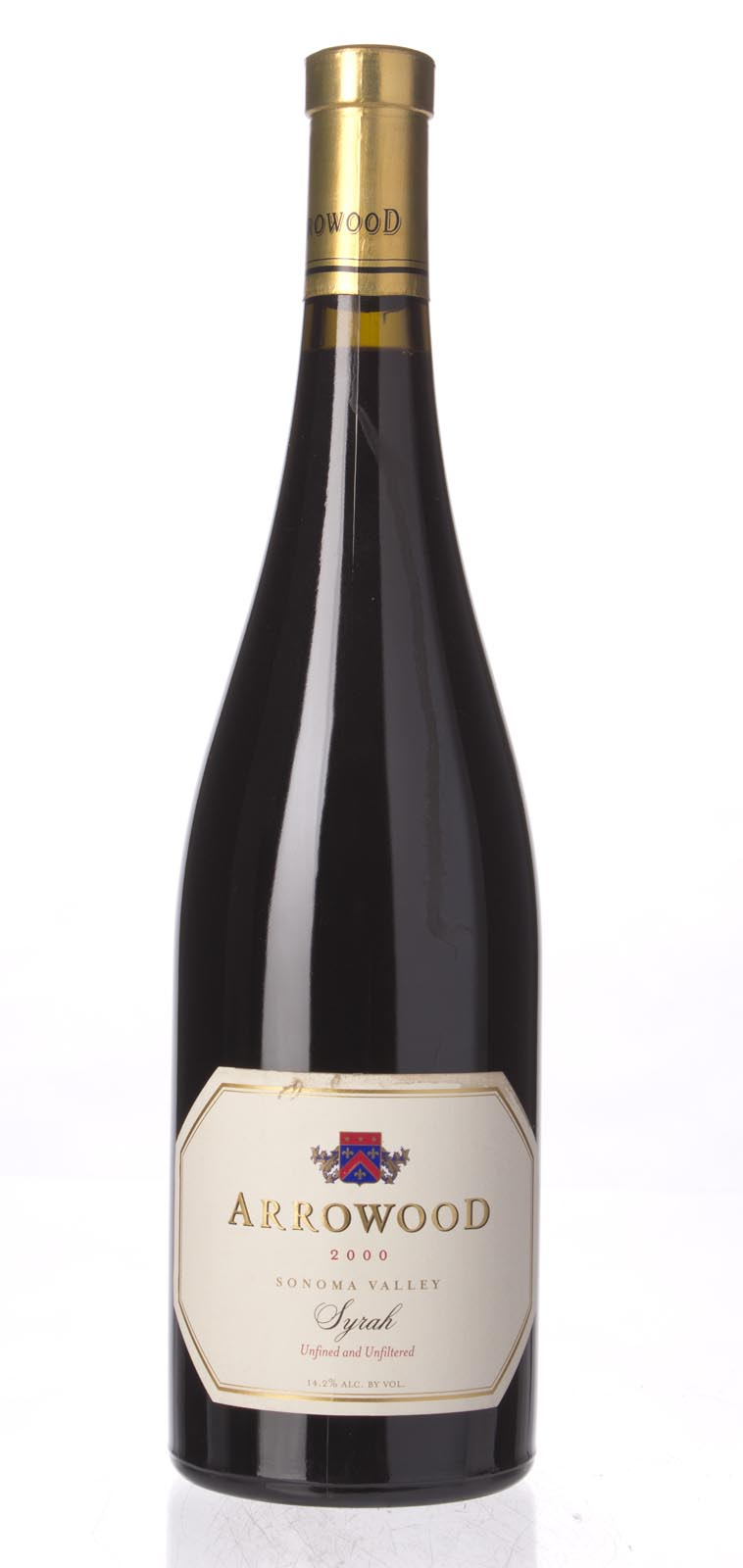Arrowood Syrah Sonoma County 2000, 750mL (WA90) from The BPW - Merchants of rare and fine wines.