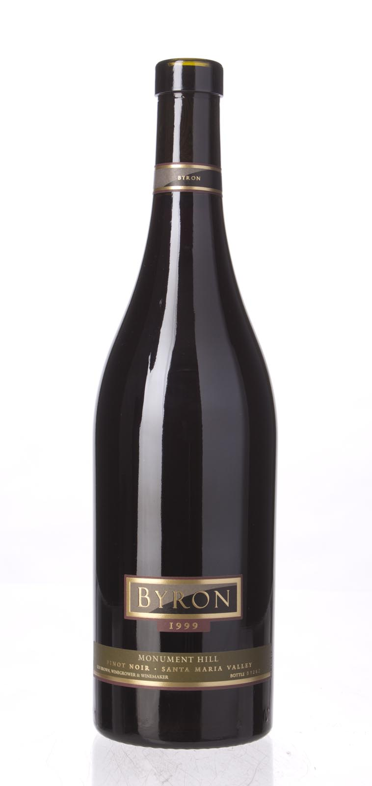 Byron Pinot Noir Monument Hill 1999, 750mL () from The BPW - Merchants of rare and fine wines.