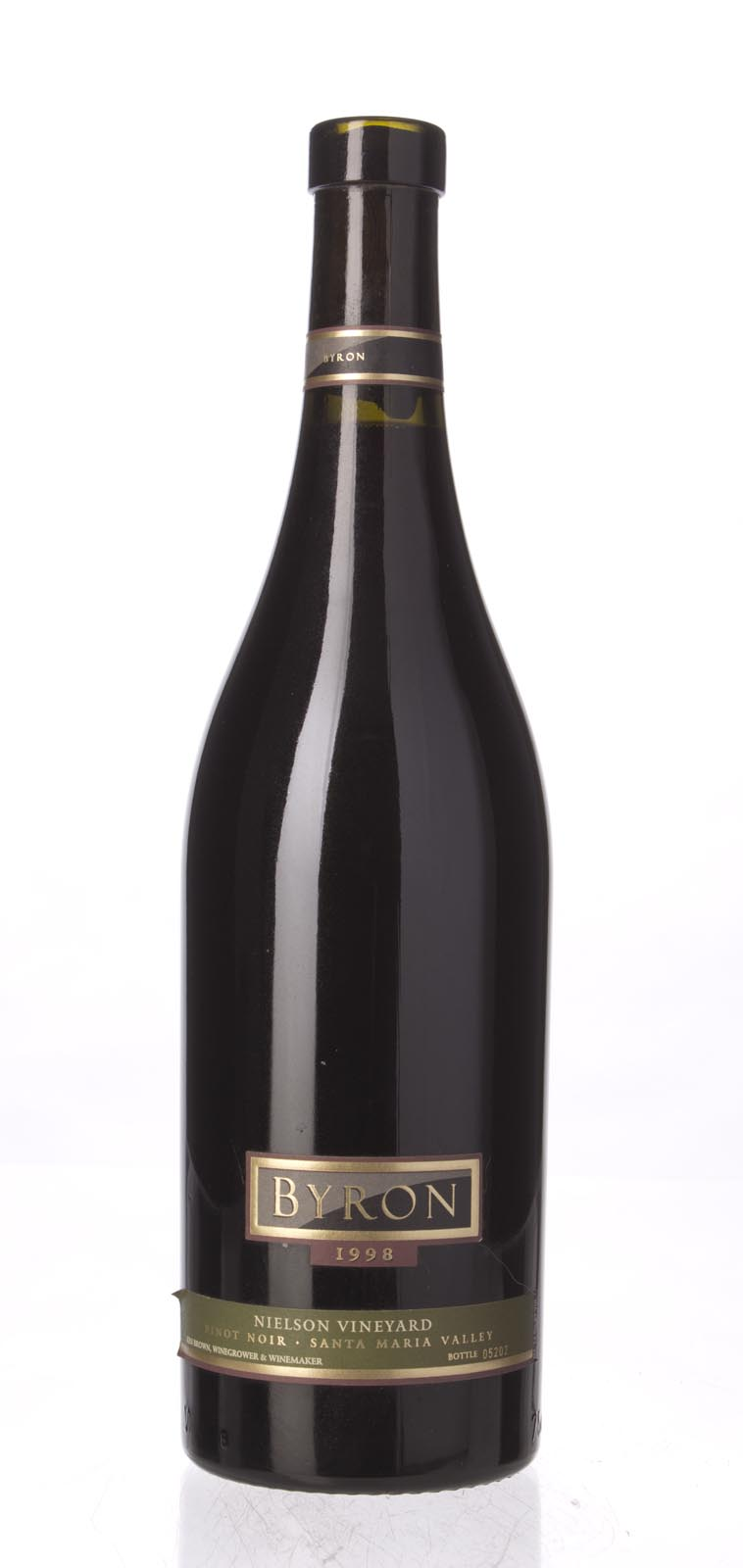 Byron Pinot Noir Nielson Vineyard 1998, 750mL () from The BPW - Merchants of rare and fine wines.