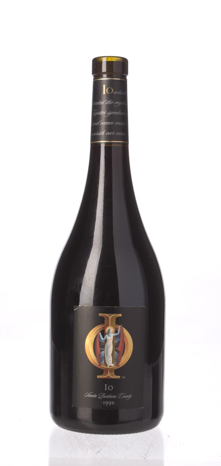 IO Syrah Santa Barbara County 1998, 750mL () from The BPW - Merchants of rare and fine wines.