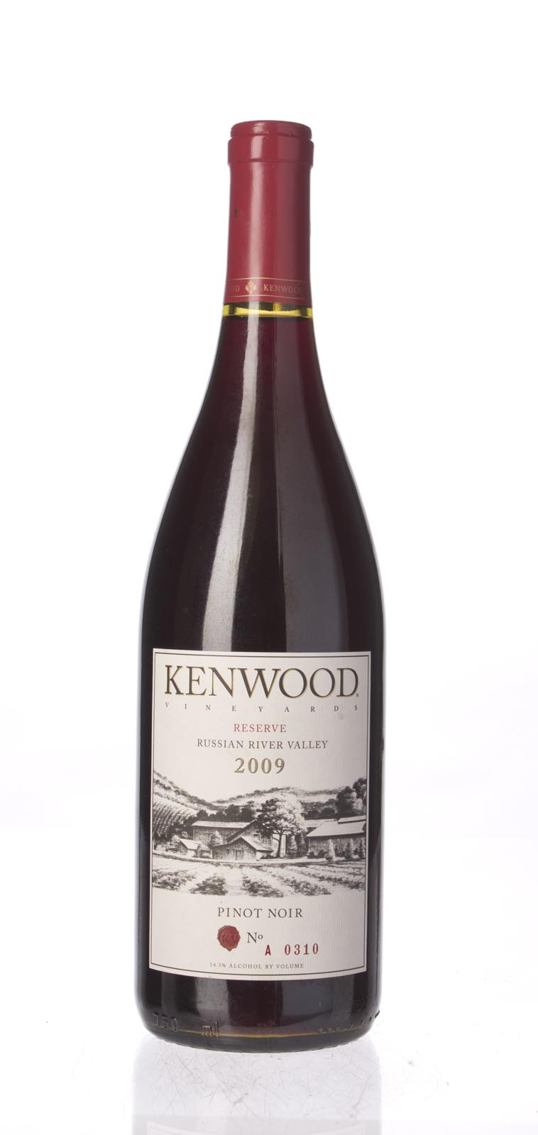 Kenwood Pinot Noir Reserve 2009, 750mL () from The BPW - Merchants of rare and fine wines.