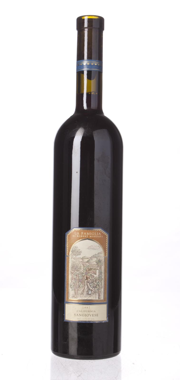La Famiglia di Robert Mondavi Sangiovese 1997, 750mL () from The BPW - Merchants of rare and fine wines.