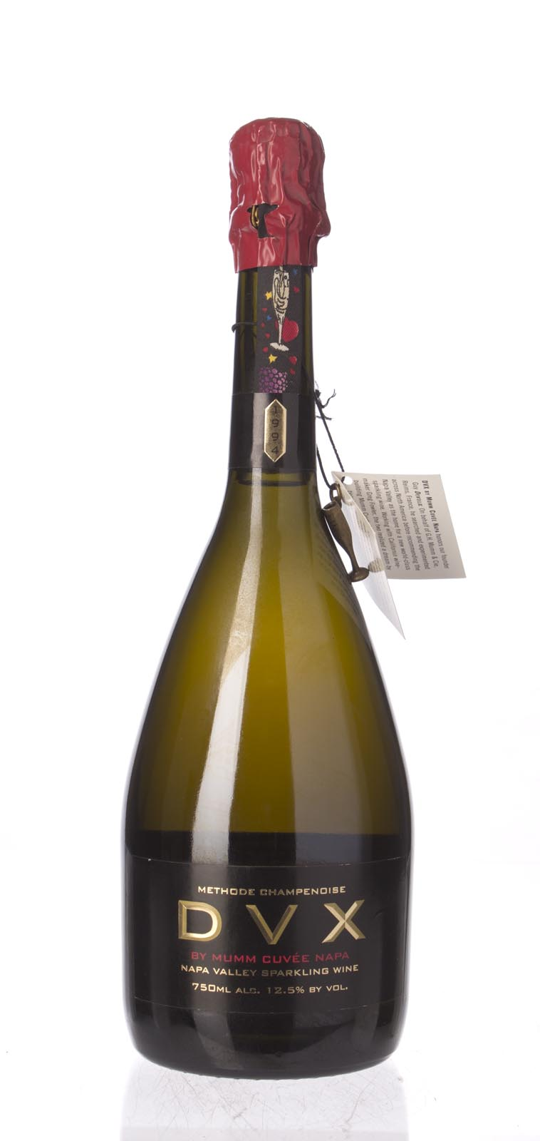 Mumm Cuvee Napa DVX 1994, 750mL (WS92) from The BPW - Merchants of rare and fine wines.