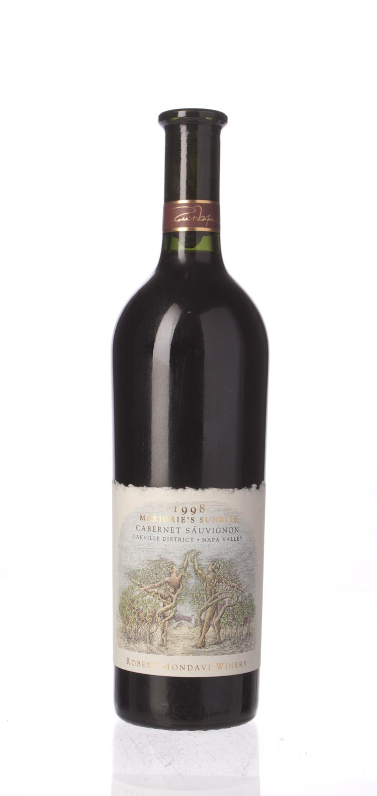 Robert Mondavi Cabernet Sauvignon Marjorie`s Vineyard Sunrise 1998, 750mL () from The BPW - Merchants of rare and fine wines.