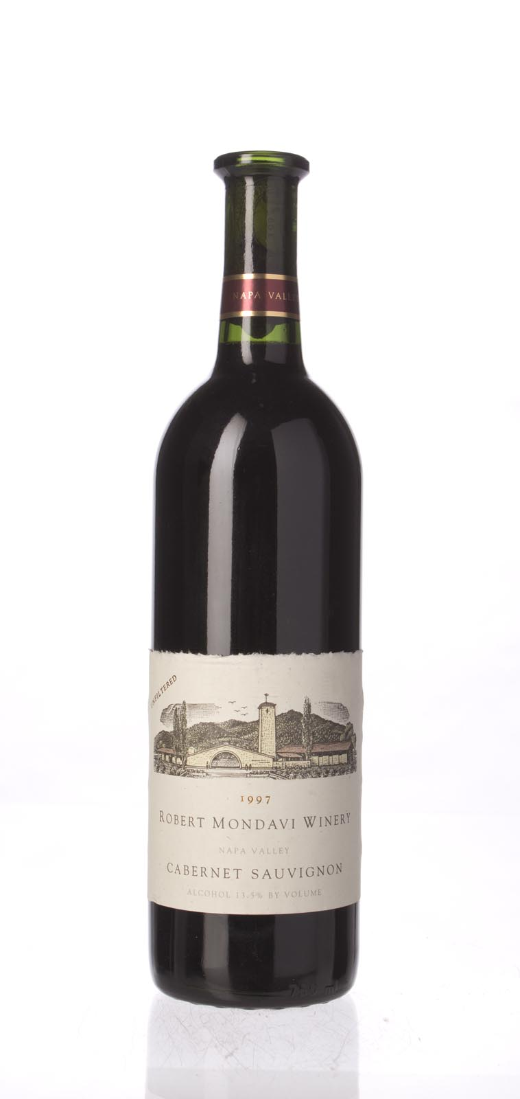 Robert Mondavi Cabernet Sauvignon Napa Valley 1997, 750mL (WA90, WS90) from The BPW - Merchants of rare and fine wines.