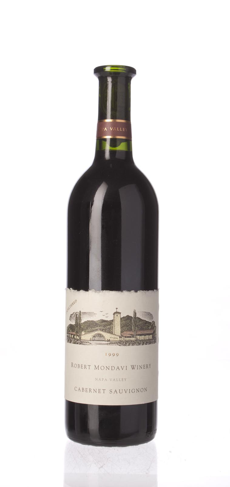 Robert Mondavi Cabernet Sauvignon Napa Valley 1999, 750mL () from The BPW - Merchants of rare and fine wines.