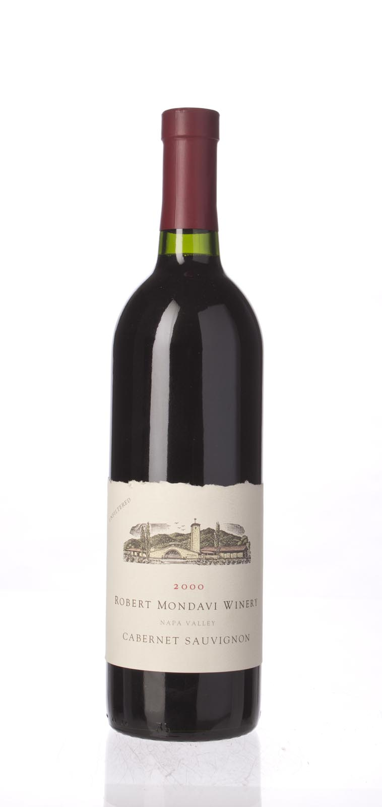 Robert Mondavi Cabernet Sauvignon Napa Valley 2000, 750mL (WA88-90) from The BPW - Merchants of rare and fine wines.