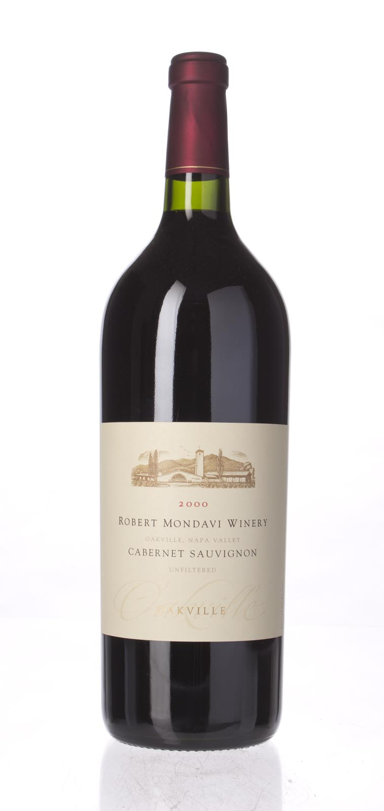 Robert Mondavi Cabernet Sauvignon Oakville 2000, 1.5L (WA91-93) from The BPW - Merchants of rare and fine wines.