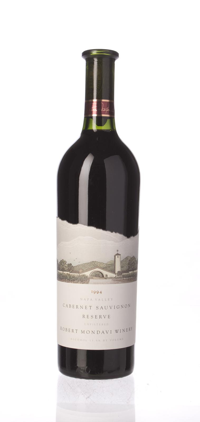 Robert Mondavi Cabernet Sauvignon Reserve 1994, 750mL (WA98) from The BPW - Merchants of rare and fine wines.