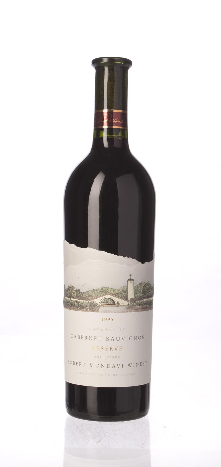 Robert Mondavi Cabernet Sauvignon Reserve 1995, 750mL (WA93, WS94) from The BPW - Merchants of rare and fine wines.