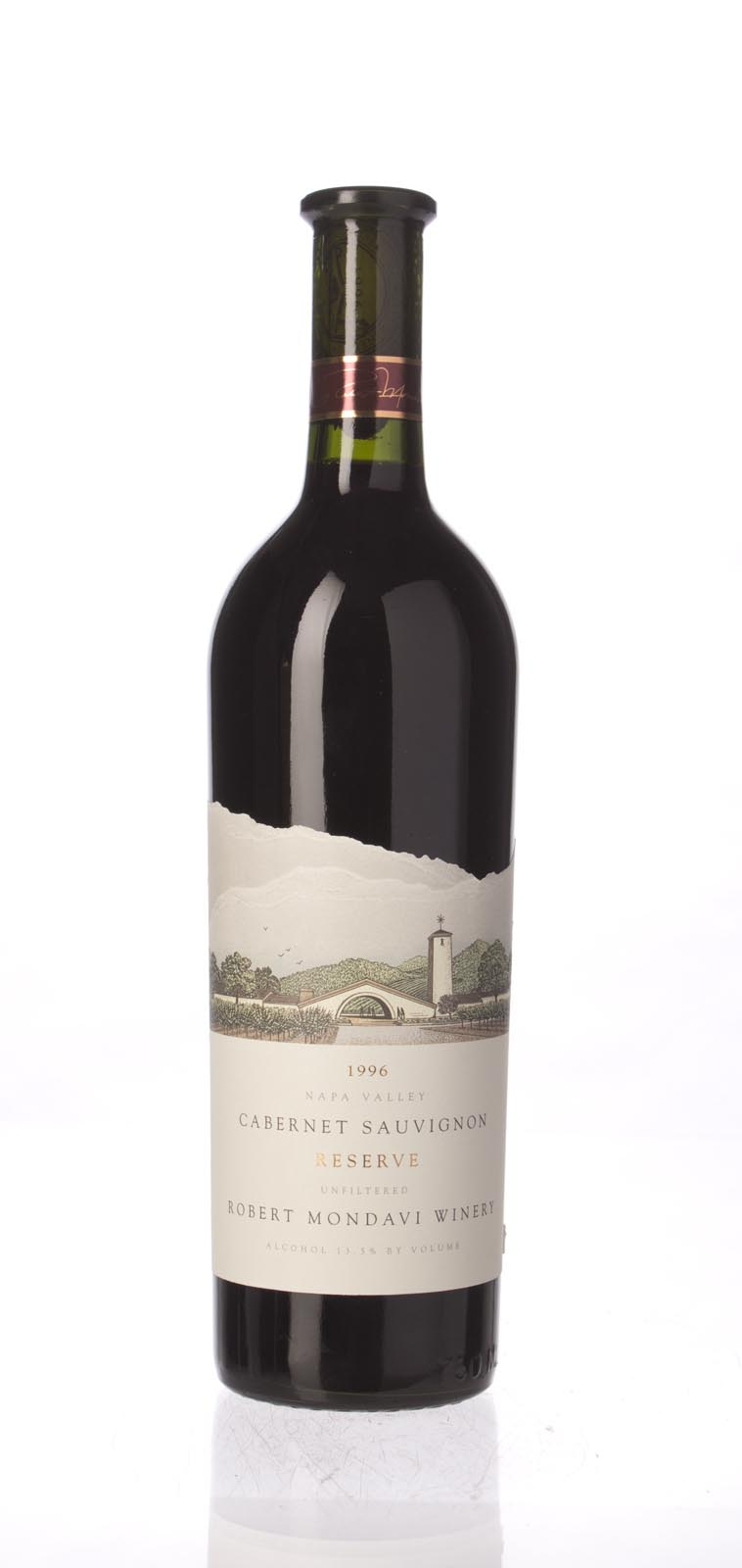 Robert Mondavi Cabernet Sauvignon Reserve 1996, 750mL (ST94, WS95) from The BPW - Merchants of rare and fine wines.