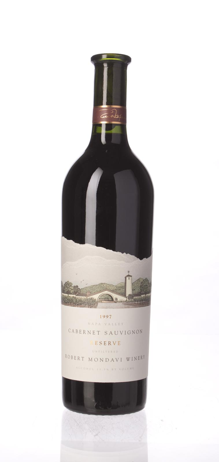 Robert Mondavi Cabernet Sauvignon Reserve 1997, 750mL (WA92, ST93, WS93) from The BPW - Merchants of rare and fine wines.