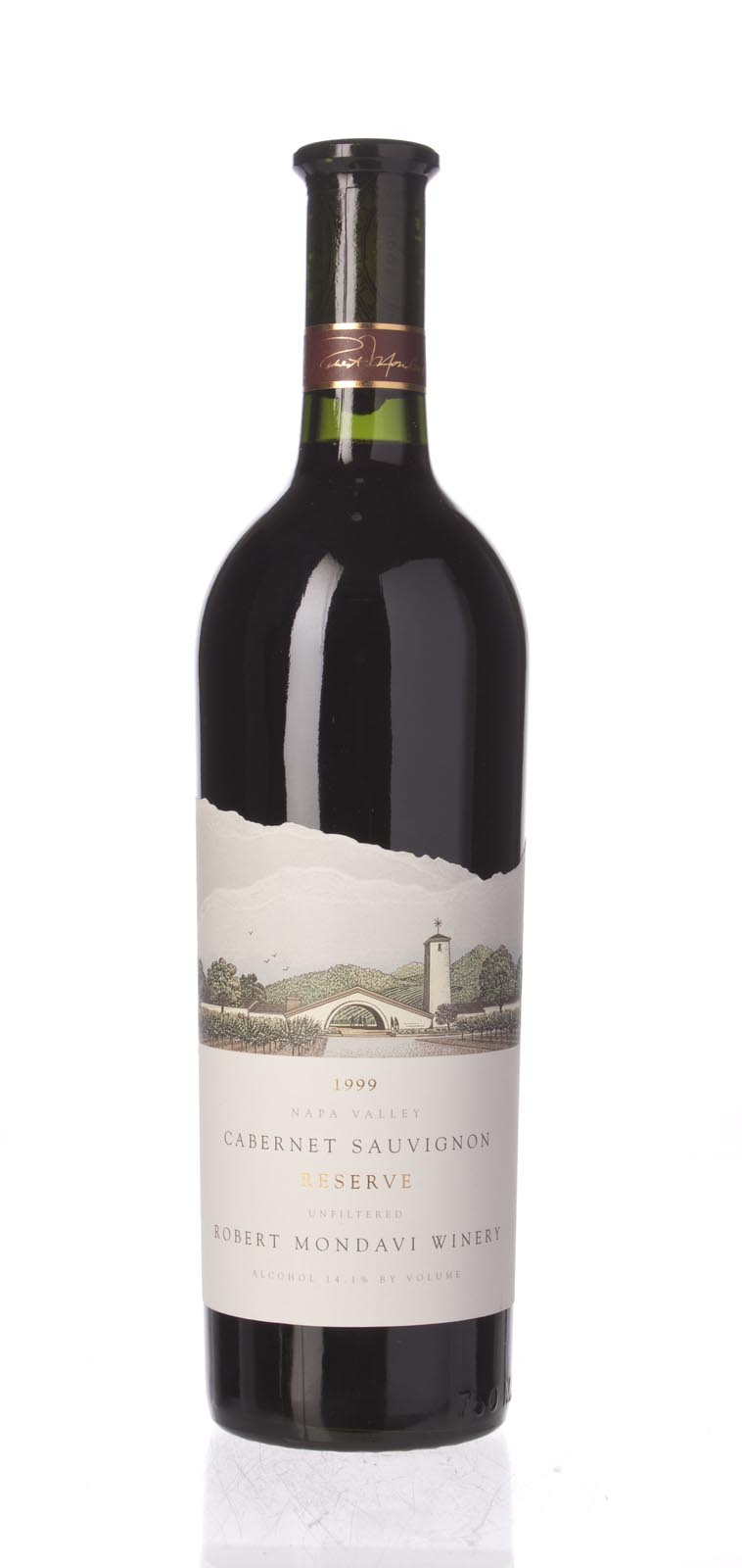Robert Mondavi Cabernet Sauvignon Reserve 1999, 750ml (WS94, WE96) from The BPW - Merchants of rare and fine wines.