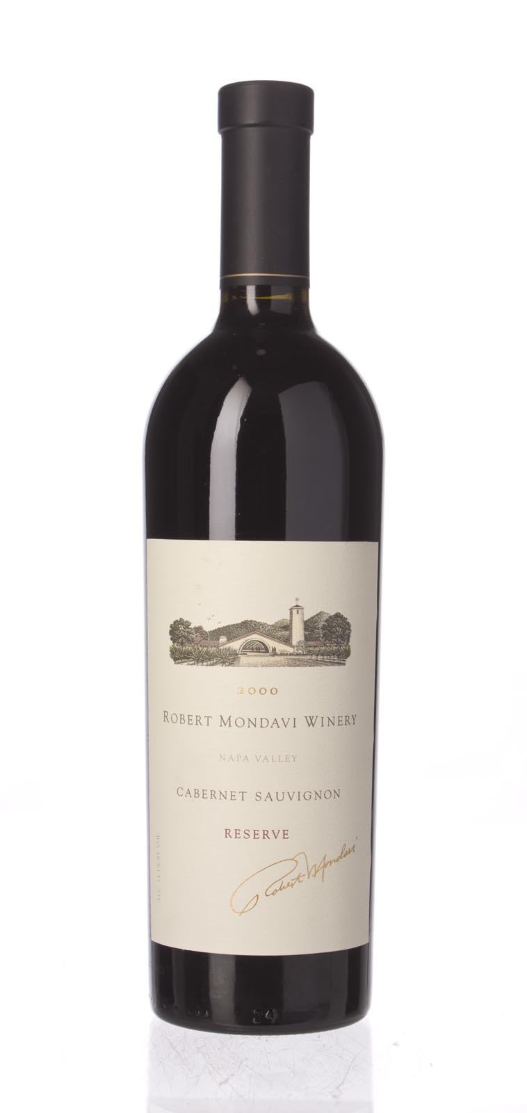 Robert Mondavi Cabernet Sauvignon Reserve 2000, 750ml (ST92) from The BPW - Merchants of rare and fine wines.