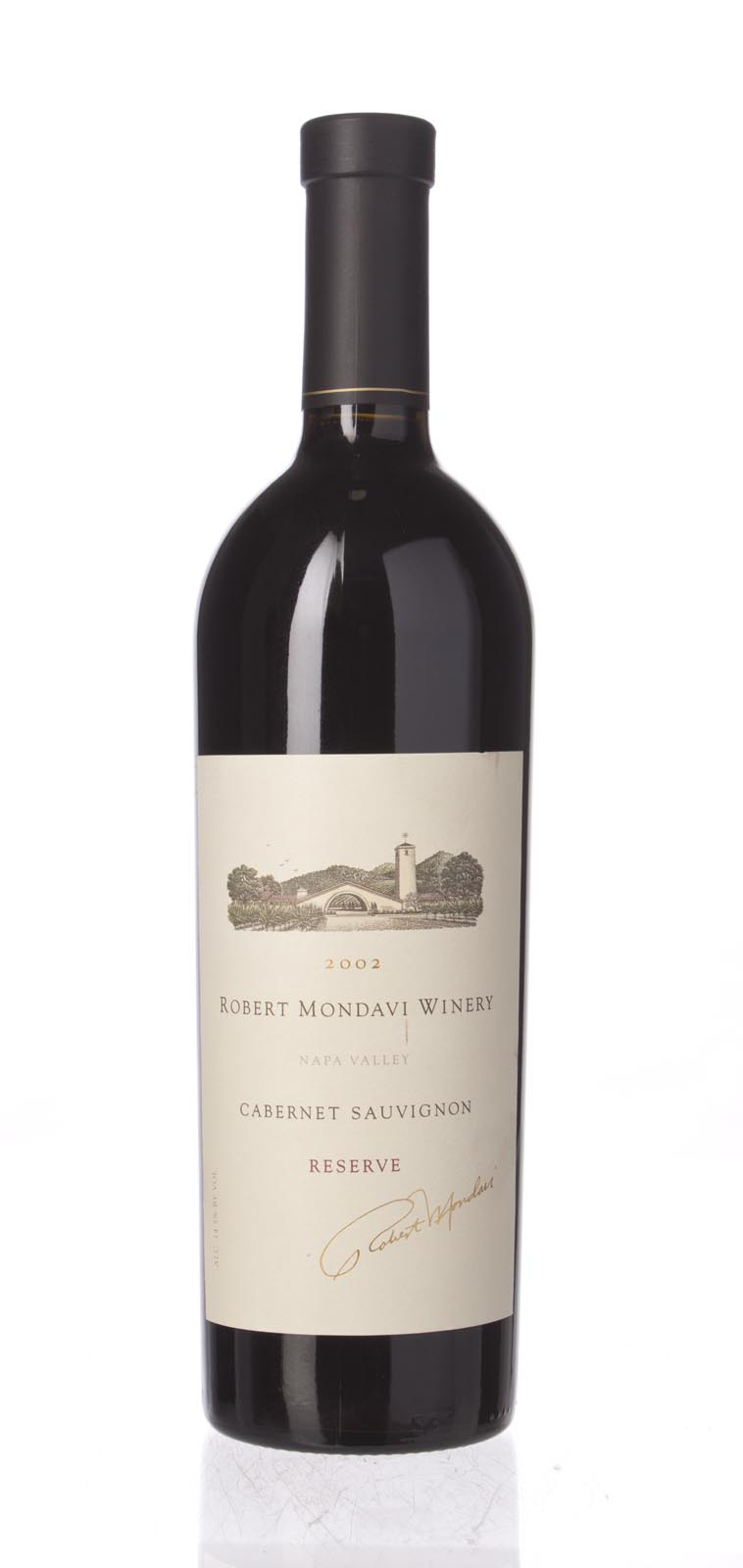 Robert Mondavi Cabernet Sauvignon Reserve 2002, 750mL (ST92) from The BPW - Merchants of rare and fine wines.