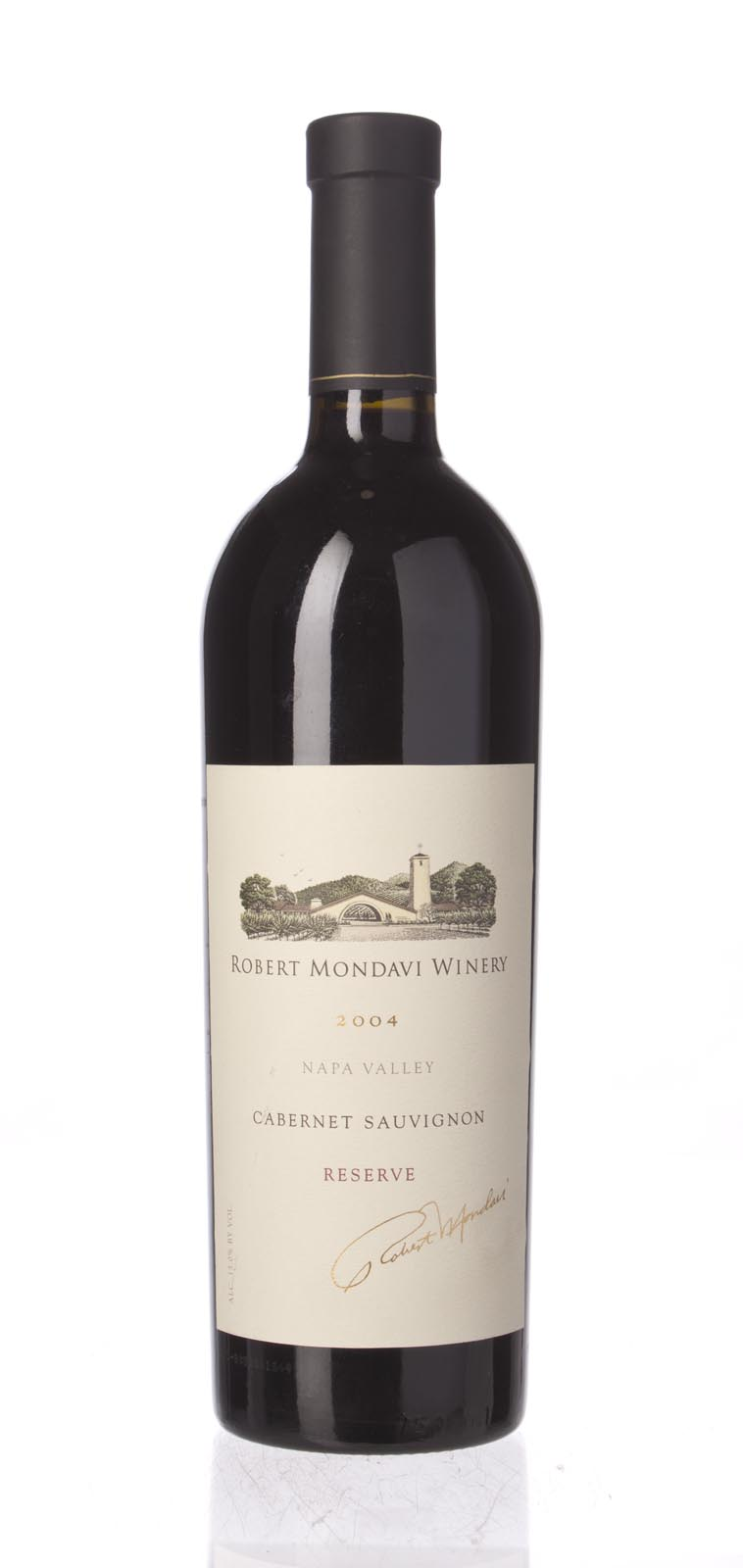 Robert Mondavi Cabernet Sauvignon Reserve 2004, 750mL (WS95) from The BPW - Merchants of rare and fine wines.