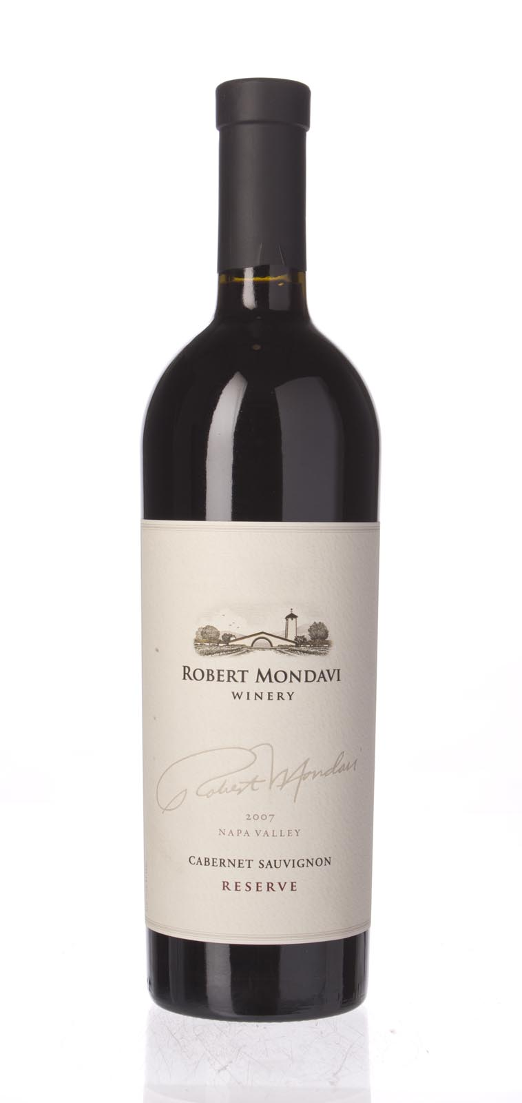 Robert Mondavi Cabernet Sauvignon Reserve 2007, 750mL (WA95+, ST94, WS95) from The BPW - Merchants of rare and fine wines.