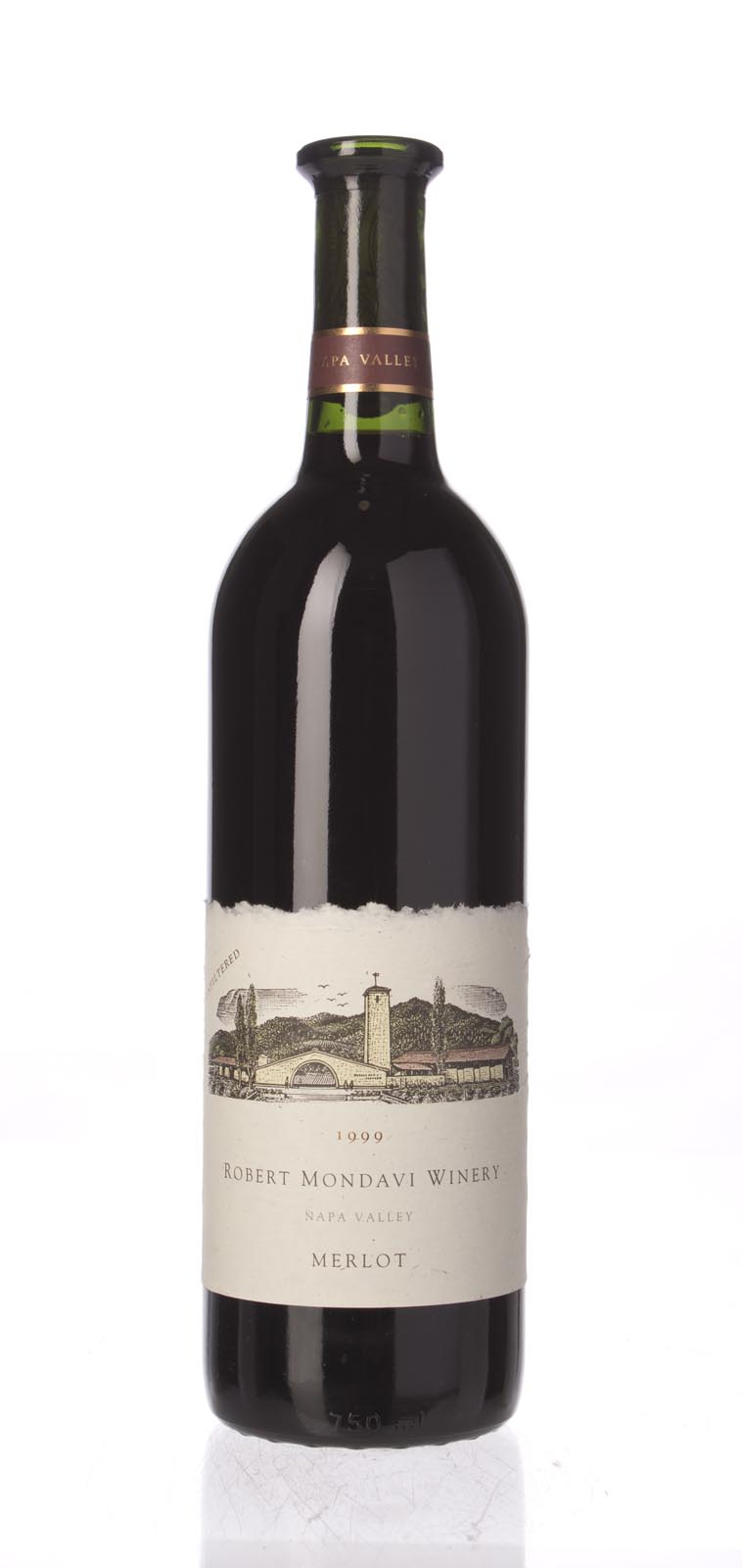 Robert Mondavi Merlot Napa Valley 1999, 750mL () from The BPW - Merchants of rare and fine wines.