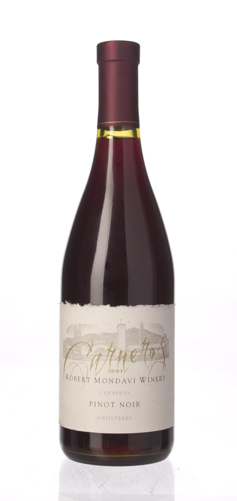 Robert Mondavi Pinot Noir Carneros 2001, 750mL () from The BPW - Merchants of rare and fine wines.