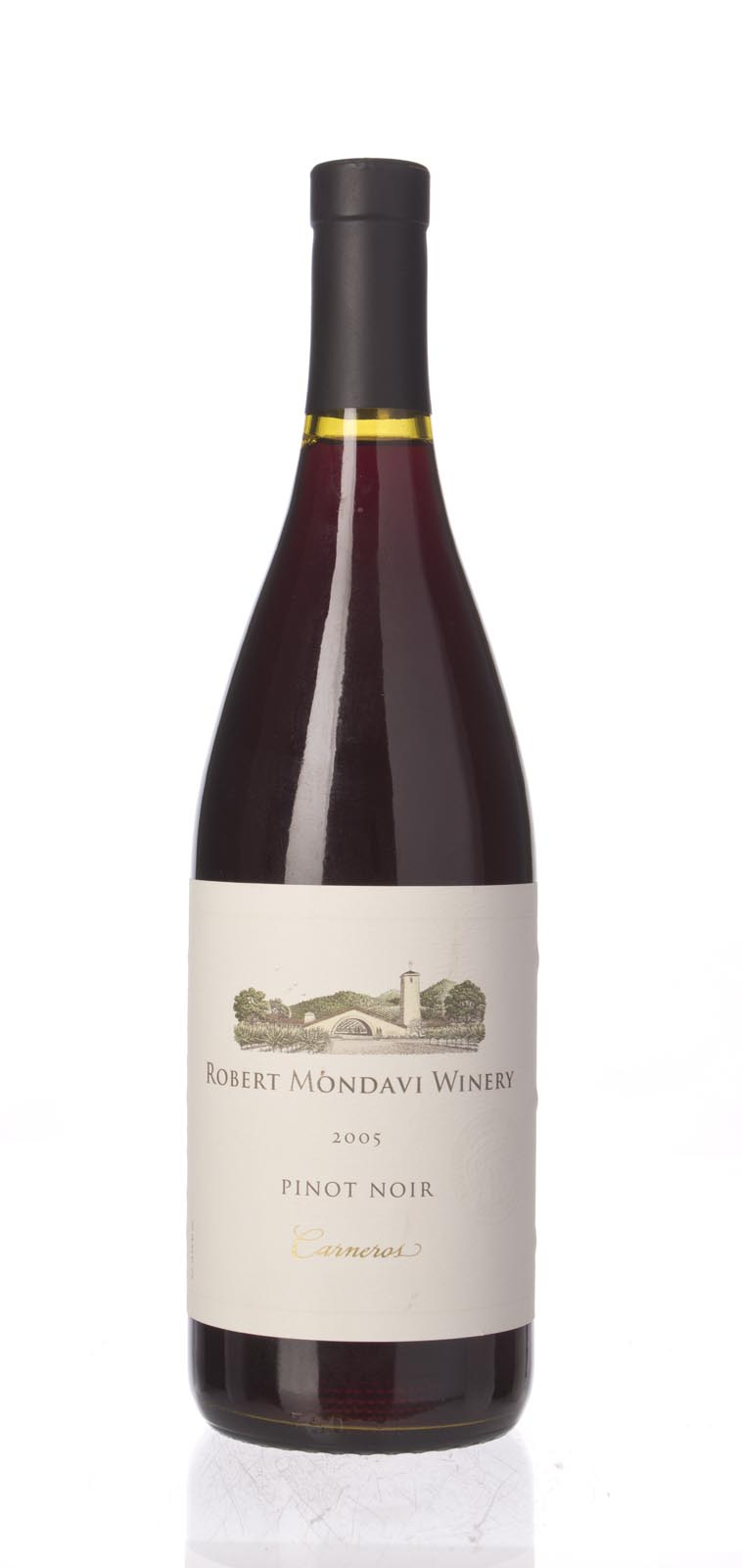 Robert Mondavi Pinot Noir Carneros 2005, 750mL (ST90) from The BPW - Merchants of rare and fine wines.