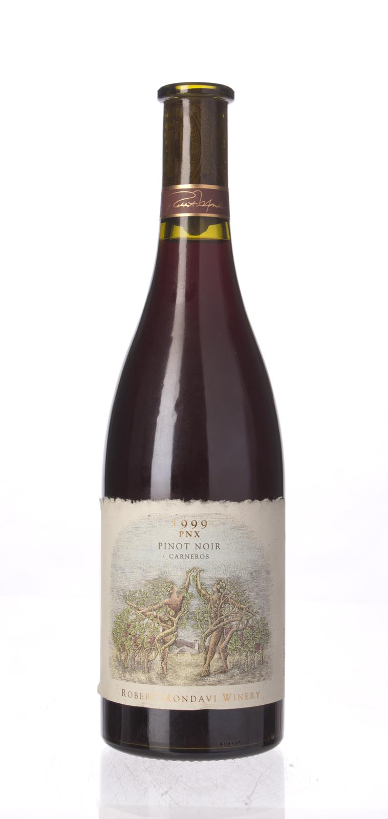 Robert Mondavi Pinot Noir PNX 1999, 750mL () from The BPW - Merchants of rare and fine wines.