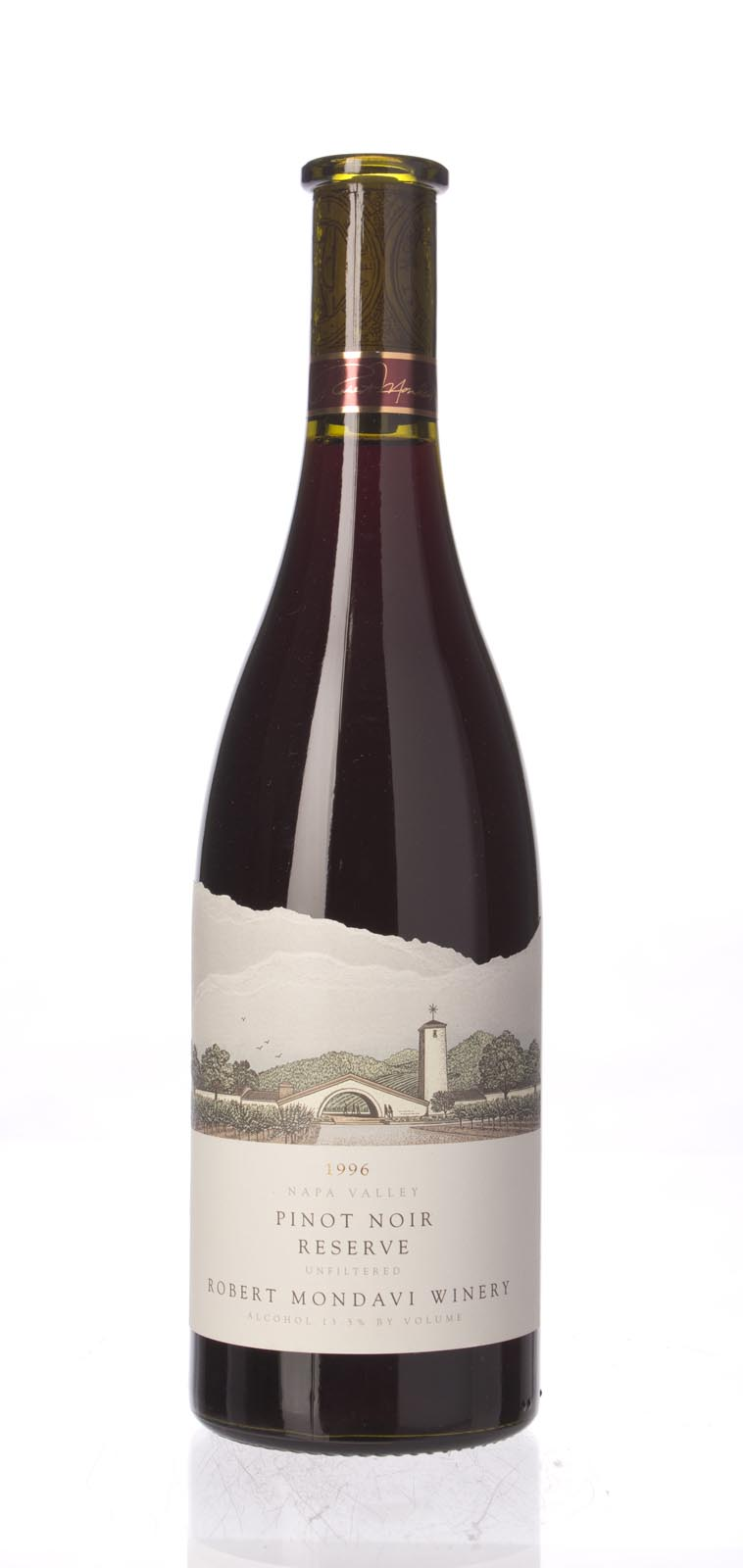 Robert Mondavi Pinot Noir Reserve 1996, 750mL (WA89) from The BPW - Merchants of rare and fine wines.
