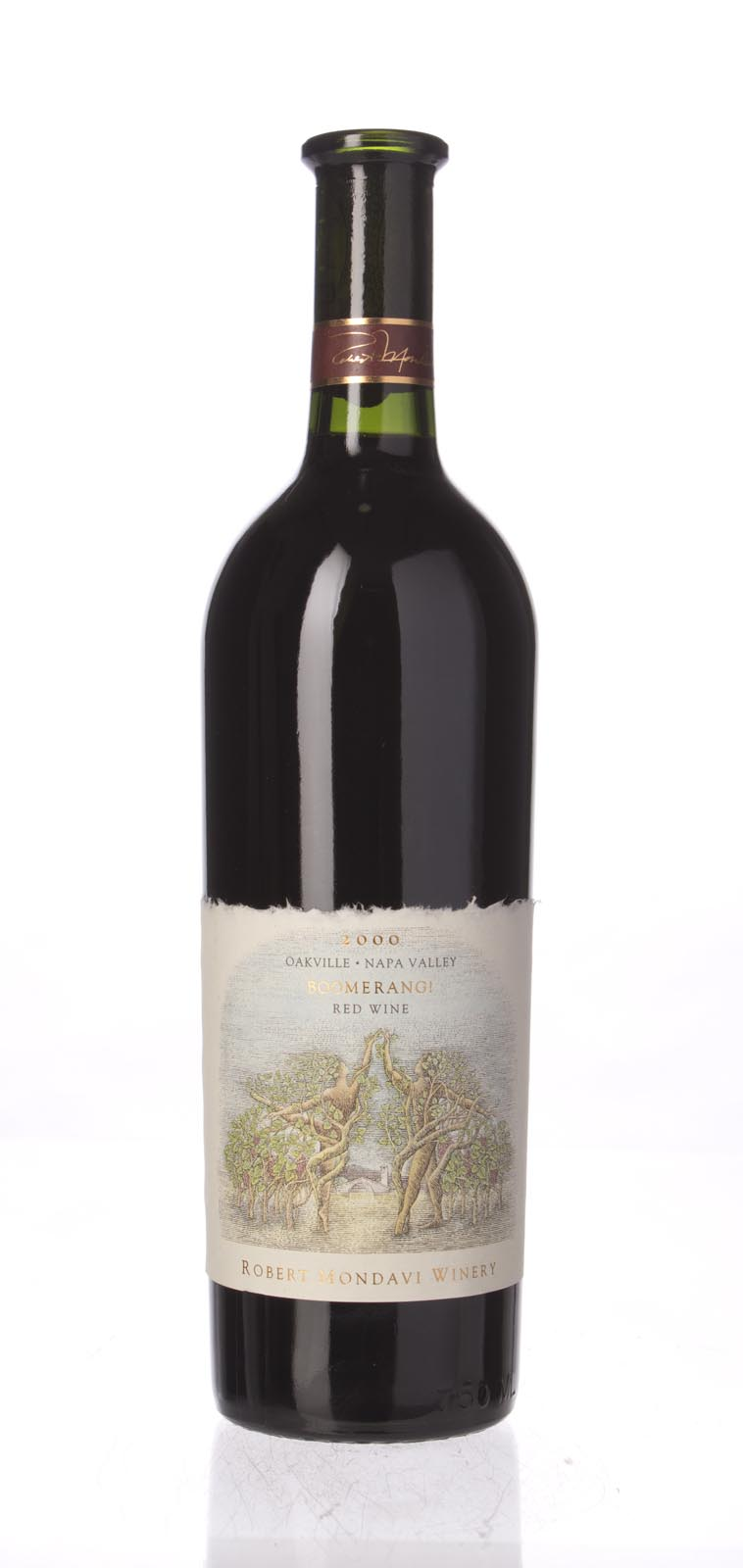 Robert Mondavi Proprietary Red Boomerang 2000, 750ml () from The BPW - Merchants of rare and fine wines.