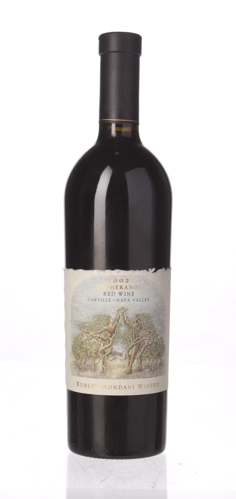Robert Mondavi Proprietary Red Boomerang 2002, 750mL () from The BPW - Merchants of rare and fine wines.