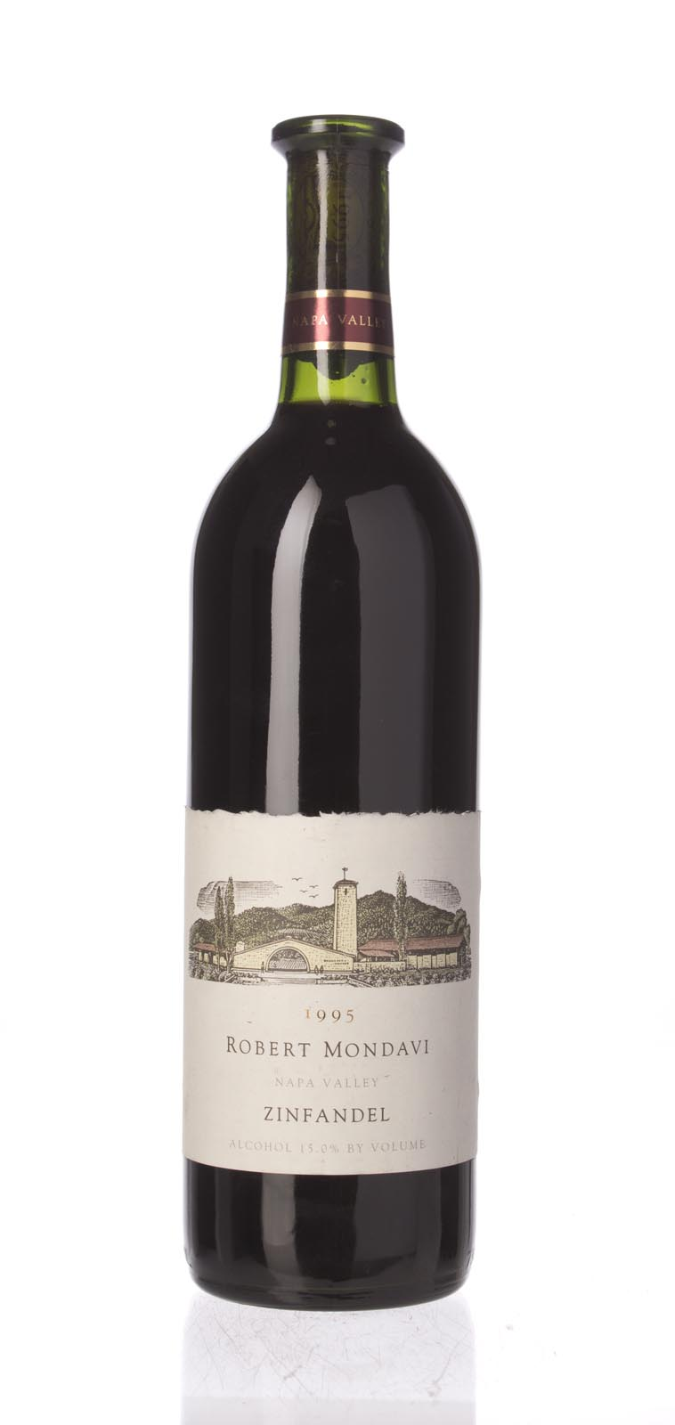 Robert Mondavi Zinfandel Napa Valley 1995, 750mL (WS92) from The BPW - Merchants of rare and fine wines.