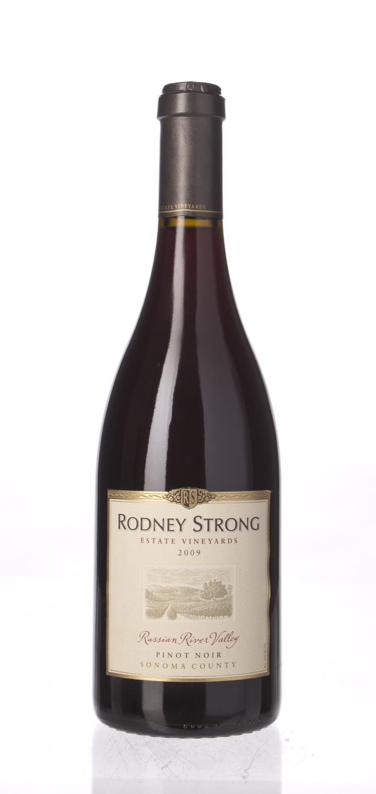 Rodney Strong Pinot Noir Russian River Valley 2009, 750mL () from The BPW - Merchants of rare and fine wines.