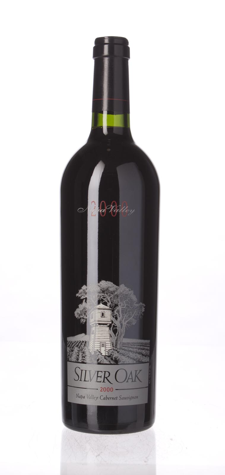 Silver Oak Cabernet Sauvignon Napa Valley 2000, 750mL (WA88) from The BPW - Merchants of rare and fine wines.