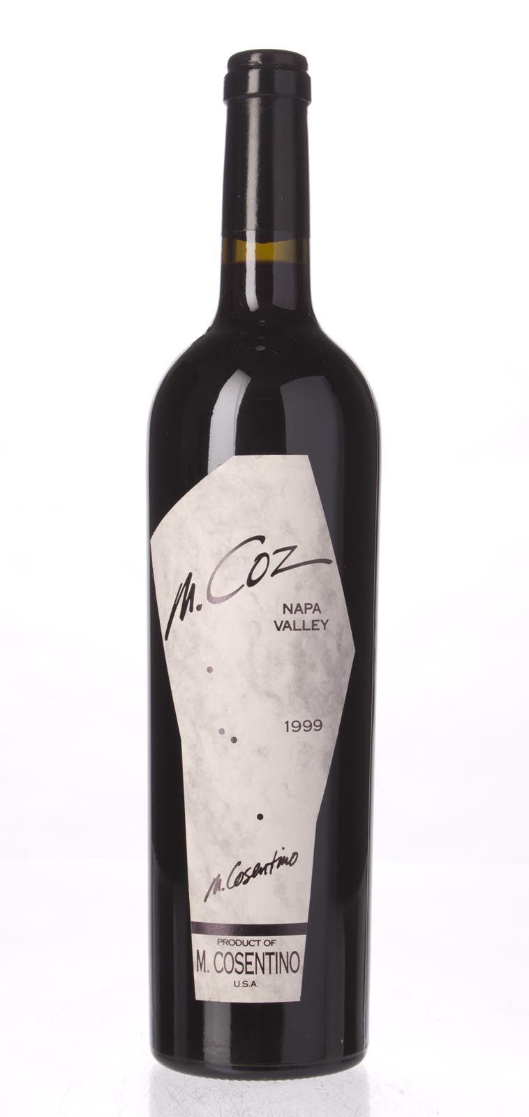 Cosentino Proprietary Red M. Coz 1999, 750mL () from The BPW - Merchants of rare and fine wines.