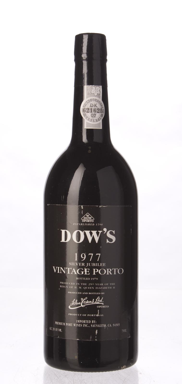 Dow Vintage Port 1977, 750mL (WA93, WS94) from The BPW - Merchants of rare and fine wines.
