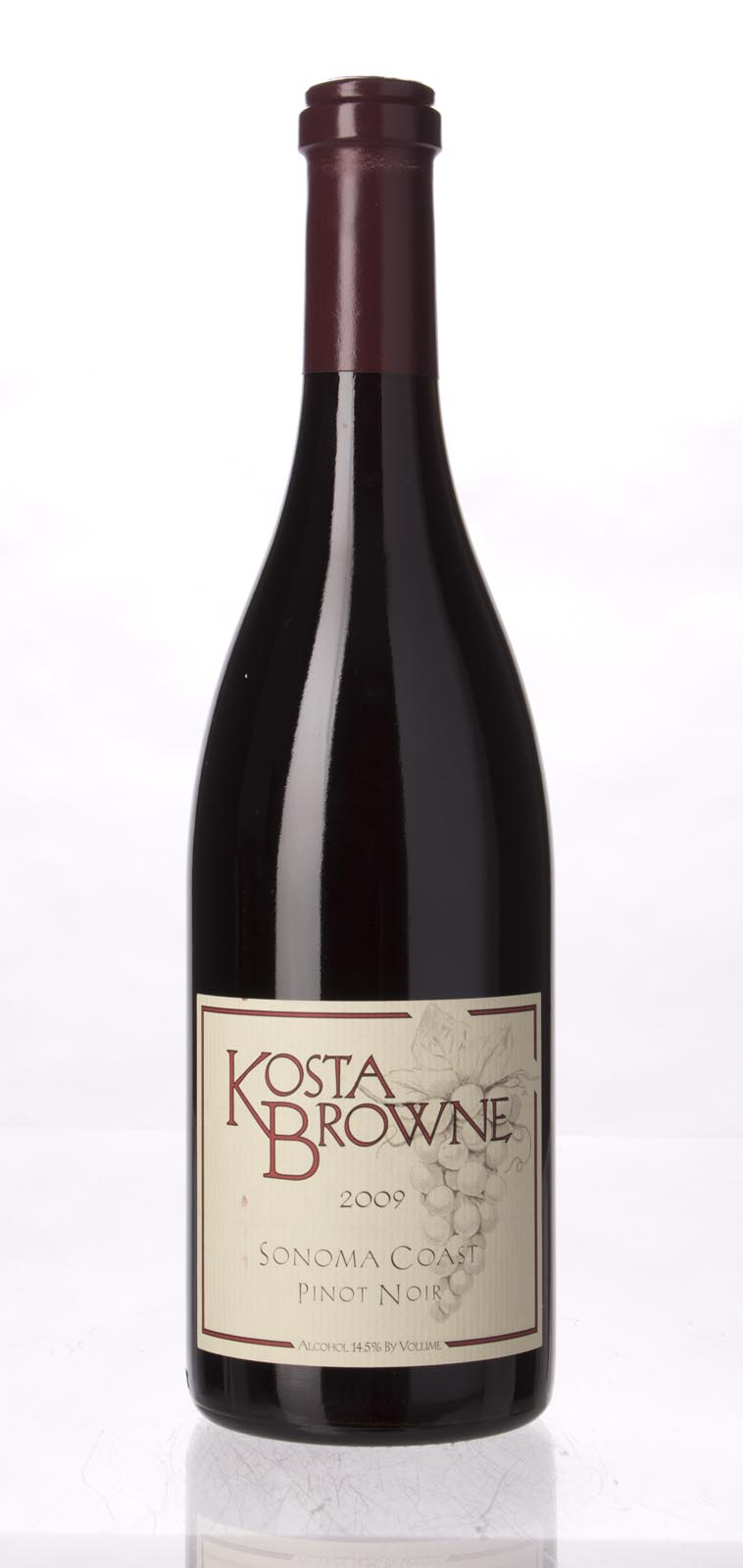 Kosta Browne Pinot Noir Sonoma Coast 2009, 750mL (JS93, WS95) from The BPW - Merchants of rare and fine wines.