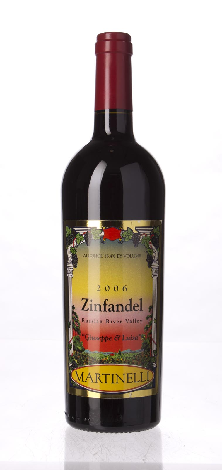 Martinelli Zinfandel Giuseppe and Luisa 2006, 750mL (WA95) from The BPW - Merchants of rare and fine wines.