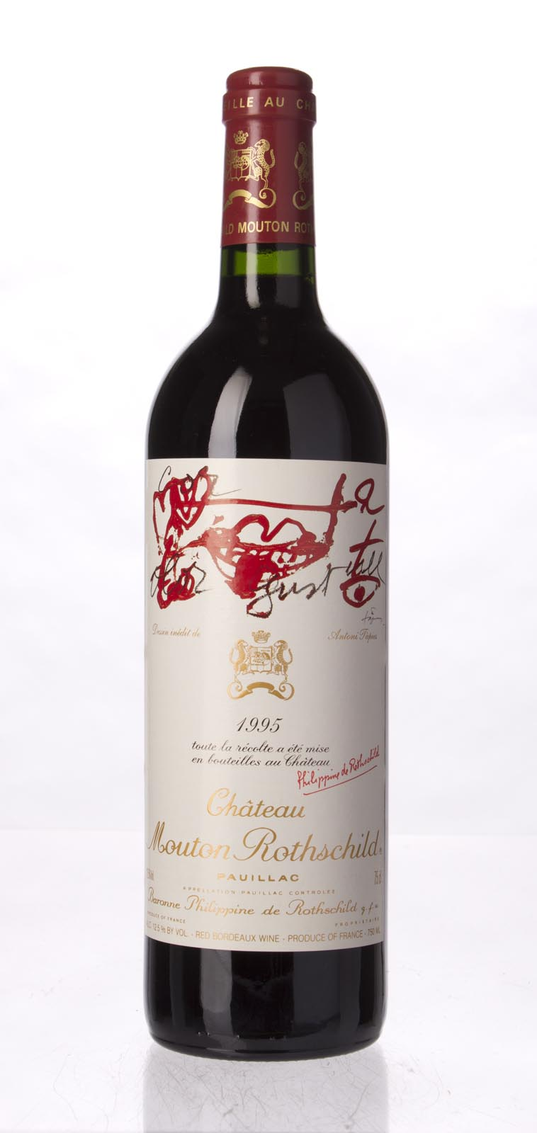 Mouton Rothschild 1995, 750mL (WA95, ST95, WS96) from The BPW - Merchants of rare and fine wines.